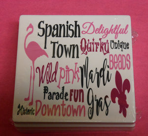 SPANISH TOWN COASTER SET