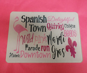 SPANISH TOWN CUTTING BOARD