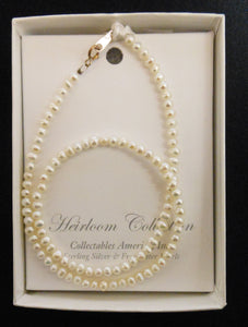 "14"" PEARL NECKLACE"