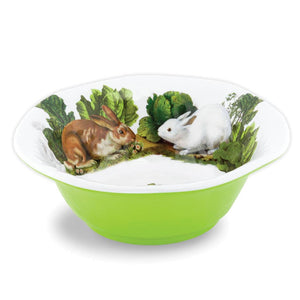 BUNNY MELAMINE MEDIUM BOWL