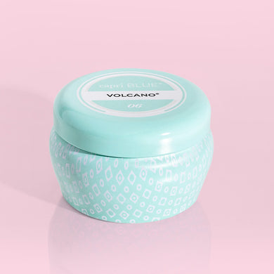 VOLCANO NO 6 MINI TIN CANDLE AQUA