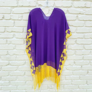 LOUISIANA STATE UNIVERSITY PEYTON BORDER TOPPER LARGE/EXTRA LARGE