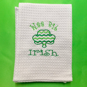 WEE BIT IRISH HAND TOWEL