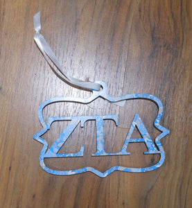 ZETA TAU ALPHA WOOD WALL SIGN