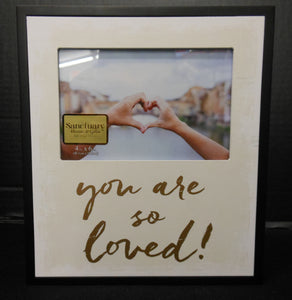 YOU ARE SO LOVED 4X6 FRAME