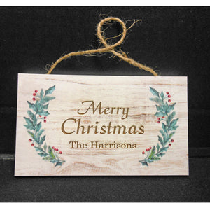 PERSONALIZED HOLLY SIGN