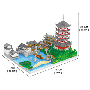 Hangzhou West Lake |  3d puzzle | nano blocks