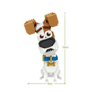 Jack Russell Dog |  3d puzzle | nano blocks