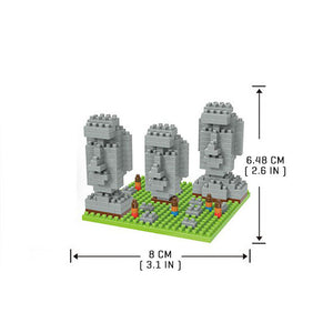 Easter Island - Nano Block Set