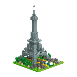 Eiffel Tower - Nano Blocks Set |  3d puzzle | nano blocks
