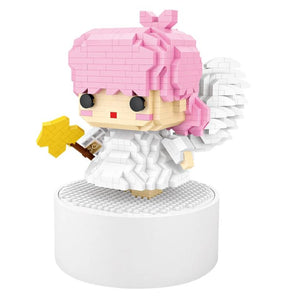Angel Music Box |  3d puzzle | nano blocks | brickcenter.myshopify.com