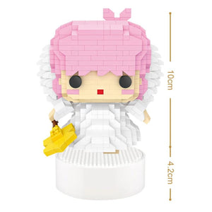 Angel Music Box |  3d puzzle | nano blocks