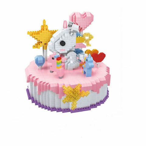 Pink Dream Cake |  3d puzzle | nano blocks | brickcenter.myshopify.com