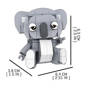 Tiny-Koala |  3d puzzle | nano blocks | brickcenter.myshopify.com