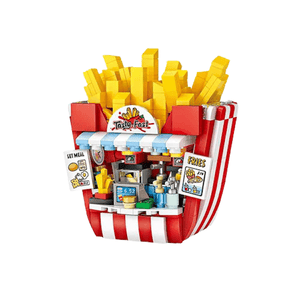 Mini Fries Shop - Amusement Park |  3d puzzle | nano blocks