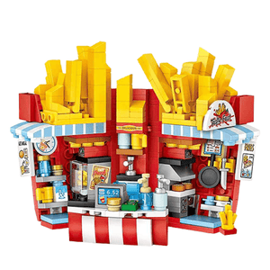 Mini Fries Shop - Amusement Park |  3d puzzle | nano blocks | brickcenter.myshopify.com