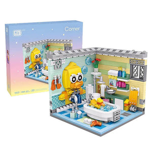 Luxurious Bathroom Set |  3d puzzle | nano blocks