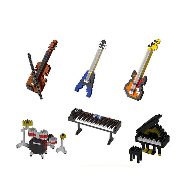 Cello - Nano Block Set |  3d puzzle | nano blocks | brickcenter.myshopify.com