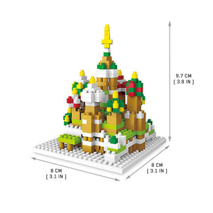Saint Basil's Cathedral - Nano Blocks Set |  3d puzzle | nano blocks