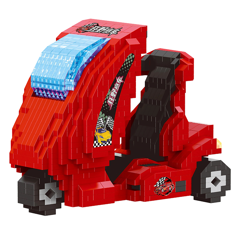 Racing Motorcycle |  3d puzzle | nano blocks | brickcenter.myshopify.com