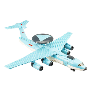 KC 2000 AWACS Airplane |  3d puzzle | nano blocks | brickcenter.myshopify.com