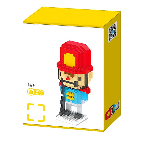 Little Royal Nutcracker |  3d puzzle | nano blocks | brickcenter.myshopify.com
