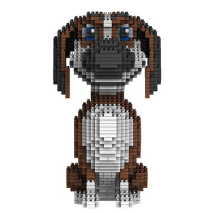 Beagle |  3d puzzle | nano blocks | brickcenter.myshopify.com