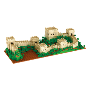 The Great Wall |  3d puzzle | nano blocks