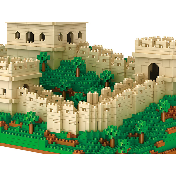 The Great Wall |  3d puzzle | nano blocks | brickcenter.myshopify.com