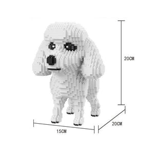White Poodle |  BrickCenter