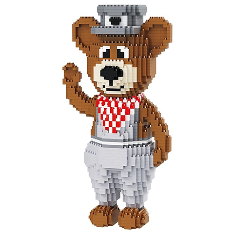 Gentleman Bear |  3d puzzle | nano blocks | brickcenter.myshopify.com
