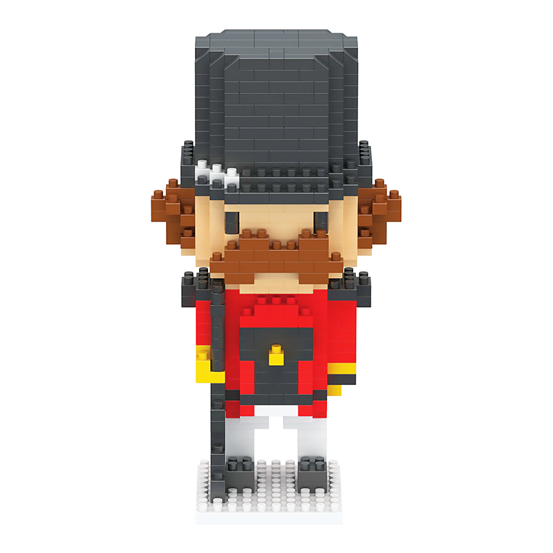 Little British Nutcracker |  3d puzzle | nano blocks | brickcenter.myshopify.com