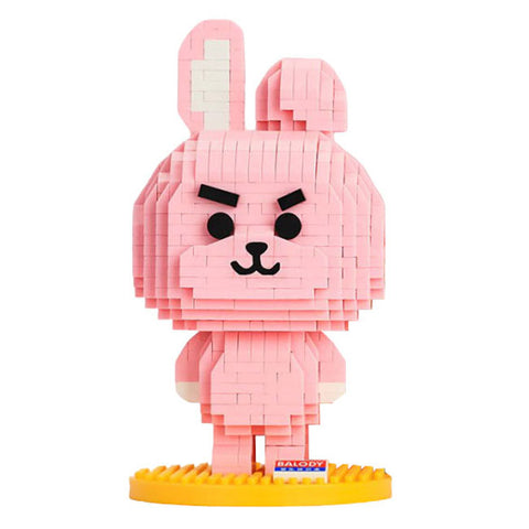 Tough Bunny |  3d puzzle | nano blocks | brickcenter.myshopify.com