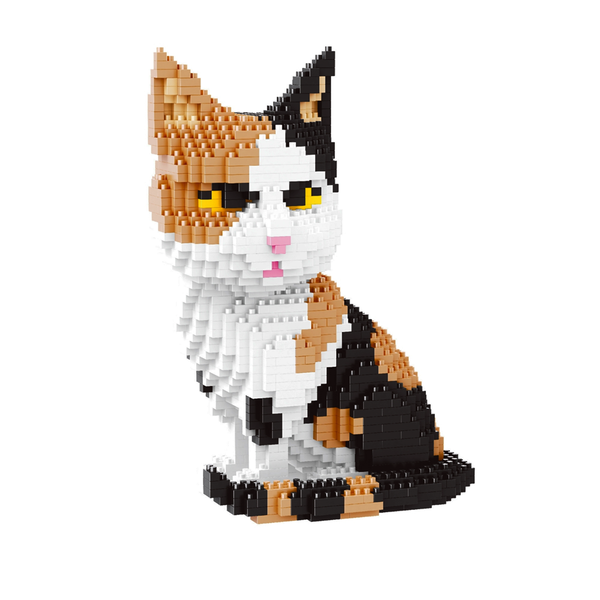 Calico Cat |  3d puzzle | nano blocks | brickcenter.myshopify.com