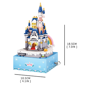 Musical Princess Castle |  3d puzzle | nano blocks | brickcenter.myshopify.com