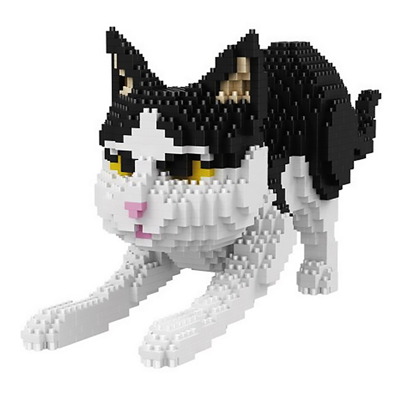 Playful Kitten |  3d puzzle | nano blocks | brickcenter.myshopify.com