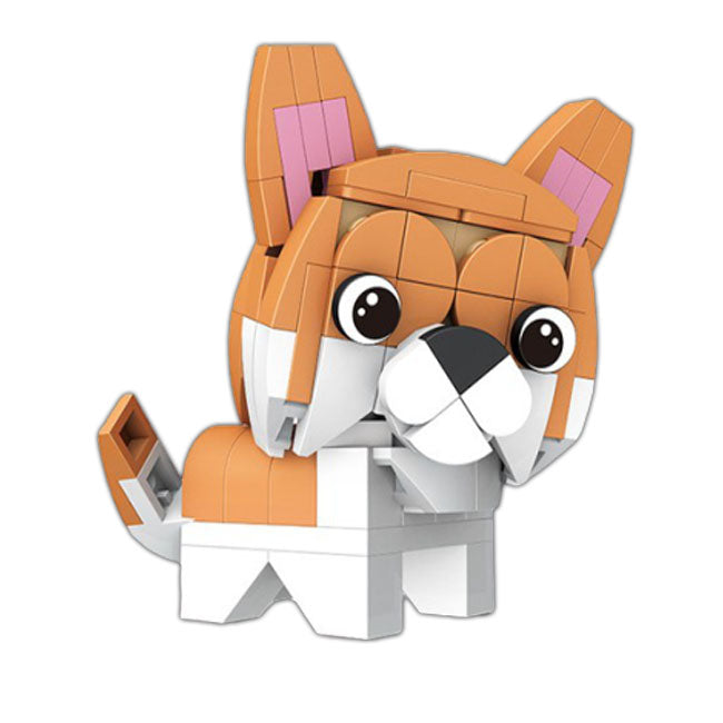 Tiny Dog |  3d puzzle | nano blocks | brickcenter.myshopify.com