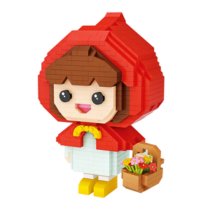 Little Red Riding Hood |  3d puzzle | nano blocks | brickcenter.myshopify.com