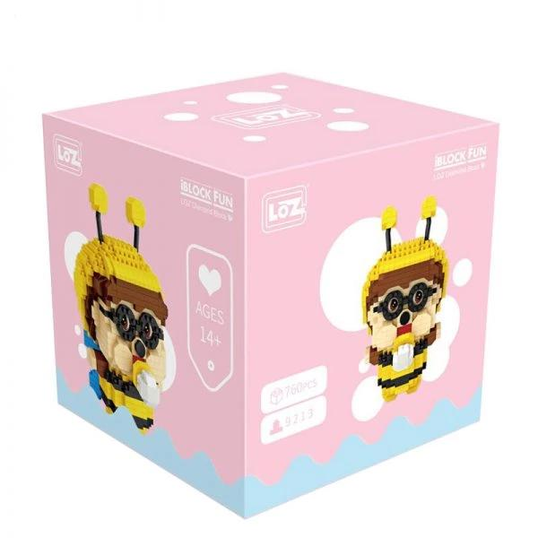 Let it Bee |  3d puzzle | nano blocks | brickcenter.myshopify.com