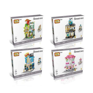 Mini Street City Bundle |  3d puzzle | nano blocks