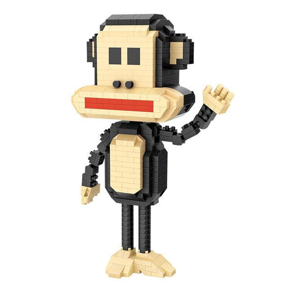 Funky Monkey |  3d puzzle | nano blocks | brickcenter.myshopify.com