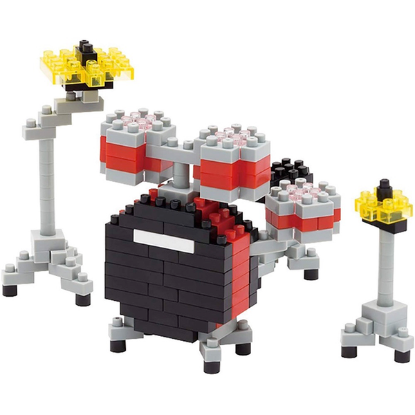 Drum Kit - Nano Block Set |  3d puzzle | nano blocks | brickcenter.myshopify.com