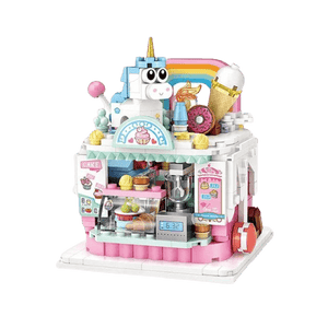 Mini Cake Shop - Amusement Park |  3d puzzle | nano blocks