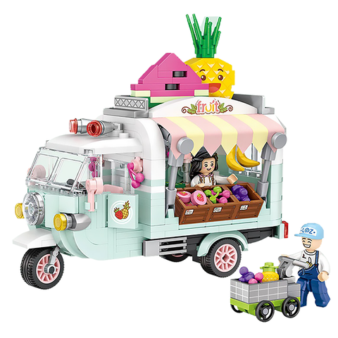 Fruit Juice Truck |  3d puzzle | nano blocks | brickcenter.myshopify.com