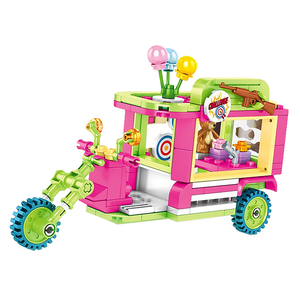 Challenging Games Truck |  3d puzzle | nano blocks
