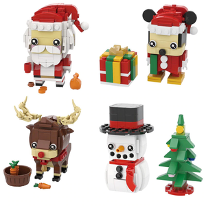 Little Santa & Friends Christmas Set |  3d puzzle | nano blocks | brickcenter.myshopify.com