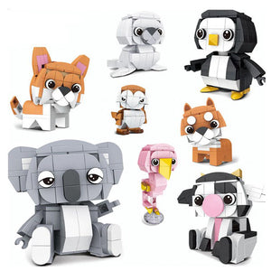 Tiny Animals Set |  3d puzzle | nano blocks | brickcenter.myshopify.com