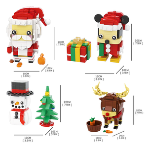 Little Santa & Friends Christmas Set