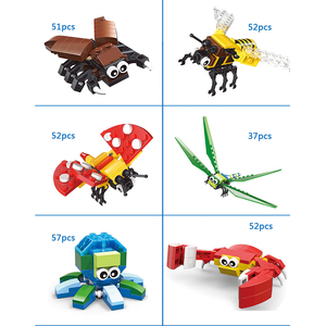 Little Cute Creatures |  3d puzzle | nano blocks | brickcenter.myshopify.com