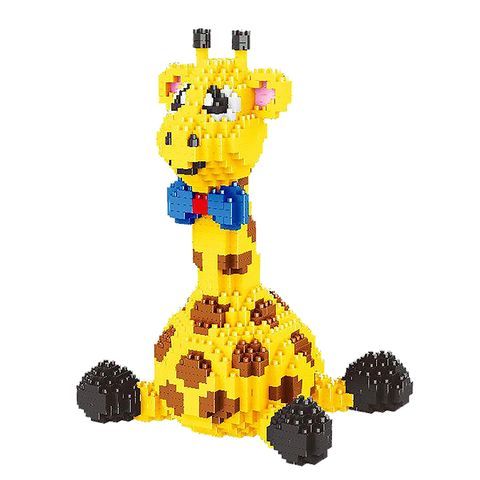 Mini Giraffe |  3d puzzle | nano blocks | brickcenter.myshopify.com
